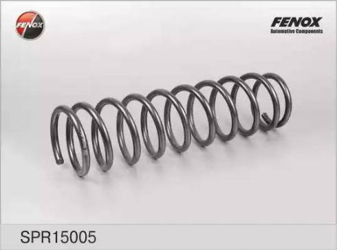 Fenox SPR15005 - Пружина ходовой части autodif.ru