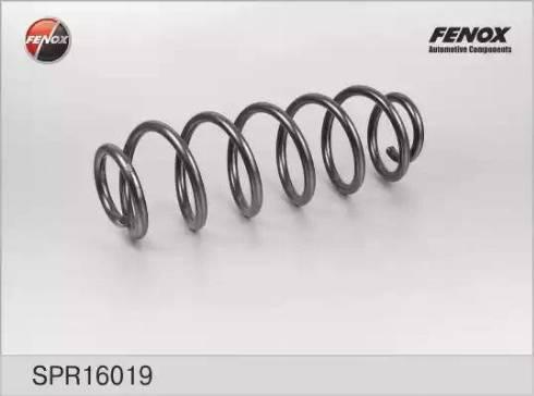 Fenox SPR16019 - Пружина ходовой части autodif.ru