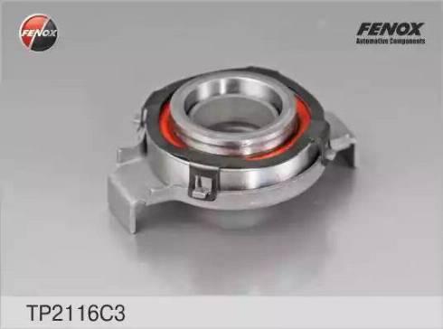 Fenox TP2116C3 - Нажимной диск сцепления autodif.ru