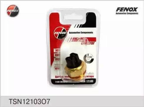 Fenox TSN12103O7 - Термовыключатель, вентилятор радиатора autodif.ru