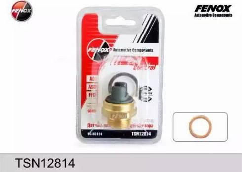 Fenox TSN12814 - Термовыключатель, вентилятор радиатора autodif.ru