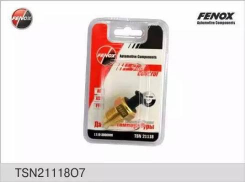 Fenox TSN21118O7 - Датчик, температура охлаждающей жидкости autodif.ru