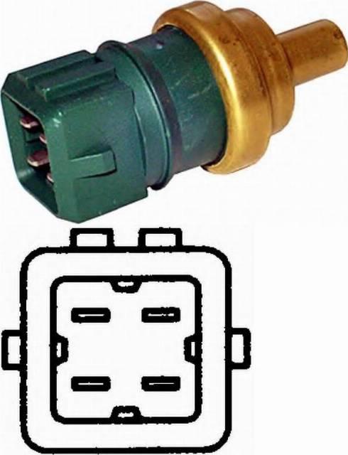 Fenox TSN22950 - Датчик, температура охлаждающей жидкости autodif.ru
