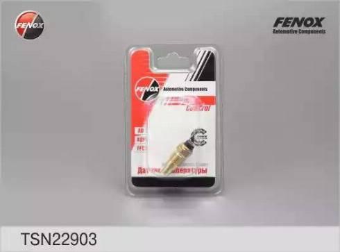 Fenox TSN22903 - Датчик, температура охлаждающей жидкости autodif.ru