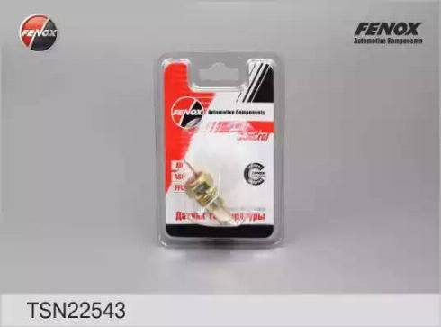 Fenox TSN22543 - Датчик, температура охлаждающей жидкости autodif.ru