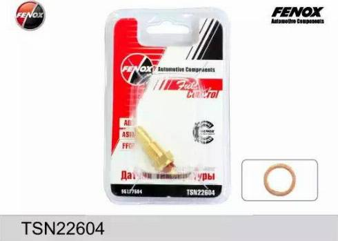 Fenox TSN22604 - Датчик, температура охлаждающей жидкости autodif.ru