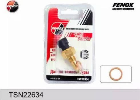 Fenox TSN22634 - Датчик, температура охлаждающей жидкости autodif.ru