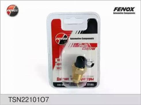 Fenox TSN22101O7 - Датчик, температура охлаждающей жидкости autodif.ru