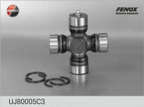 Fenox UJ80005C3 - Шарнир, колонка рулевого управления autodif.ru