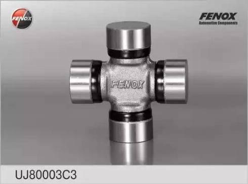 Fenox UJ80003C3 - Шарнир, колонка рулевого управления autodif.ru
