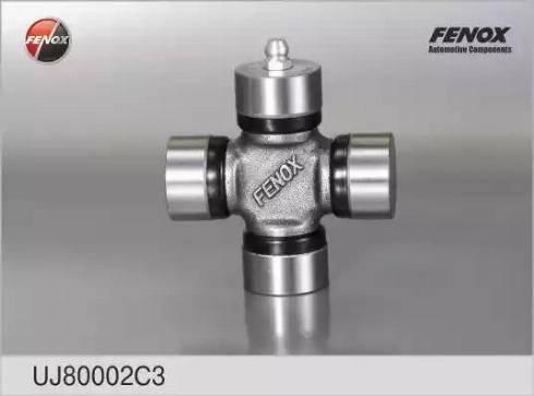 Fenox UJ80002C3 - Шарнир, колонка рулевого управления autodif.ru