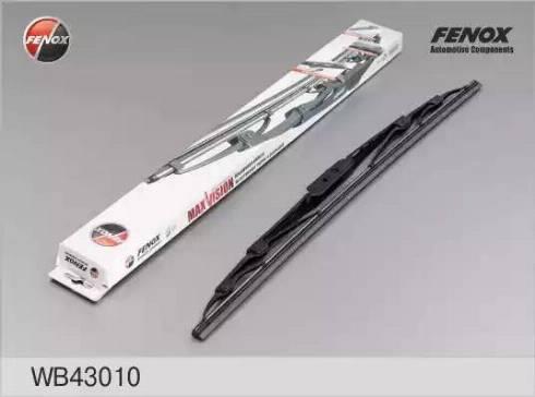 Fenox WB43010 - Щетка стеклоочистителя autodif.ru