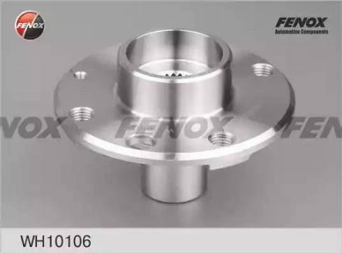 Fenox WH10106 - Ступица колеса autodif.ru