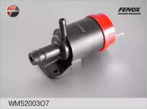 Fenox WM52003O7 - Водяной насос, система очистки окон autodif.ru