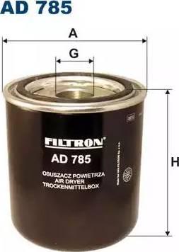 Filtron AD785 - Осушитель воздуха, пневматическая система autodif.ru