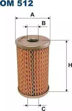 Filtron OM512 - Фильтр, Гидравлическая система привода рабочего оборудования autodif.ru