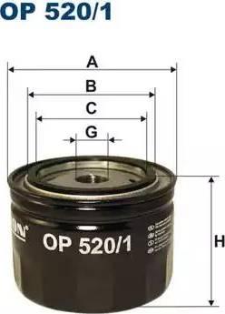 Filtron OP 520/1 - Гидрофильтр, автоматическая коробка передач autodif.ru