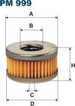 Filtron PM999 - Топливный фильтр autodif.ru