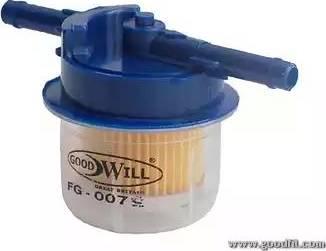 GoodWill FG007LUX - Топливный фильтр autodif.ru