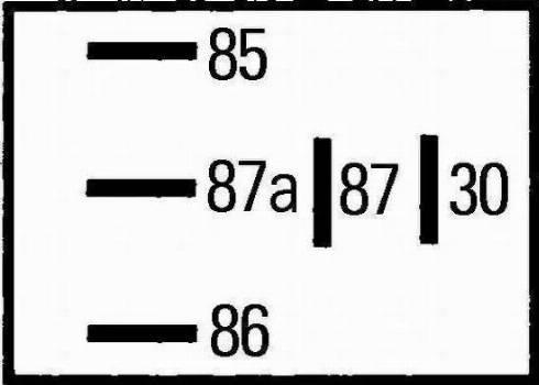 HELLA 4RD 965 453-041 - Реле, предварительный нагреватель топлива autodif.ru