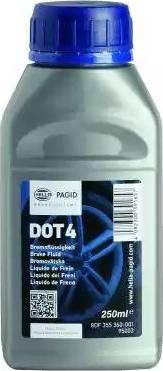 HELLA 8DF355360001 - Тормозная жидкость autodif.ru