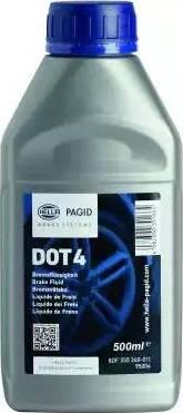 HELLA 8DF355360011 - Тормозная жидкость autodif.ru