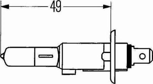 HELLA 8GH002089131 - Лампа накаливания, фара с авт. системой стабилизации autodif.ru