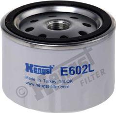 Hengst Filter E602L - Воздушный фильтр, компрессор - подсос воздуха autodif.ru