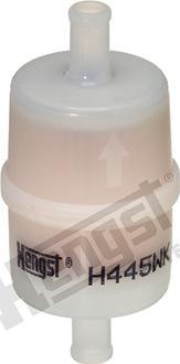 Hengst Filter H445WK - Воздушный фильтр, компрессор - подсос воздуха autodif.ru