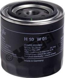 Hengst Filter H10W01 - Воздушный фильтр, компрессор - подсос воздуха autodif.ru