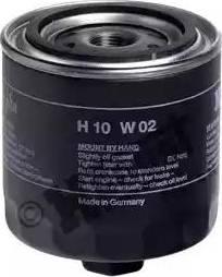 Hengst Filter H10W02 - Воздушный фильтр, компрессор - подсос воздуха autodif.ru