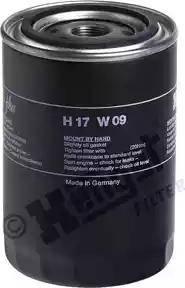 Hengst Filter H17W09 - Воздушный фильтр, компрессор - подсос воздуха autodif.ru