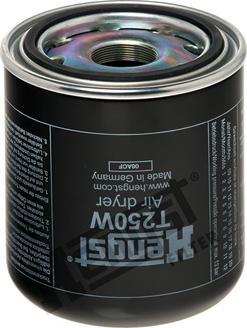 Hengst Filter T250W - Патрон осушителя воздуха, пневматическая система autodif.ru