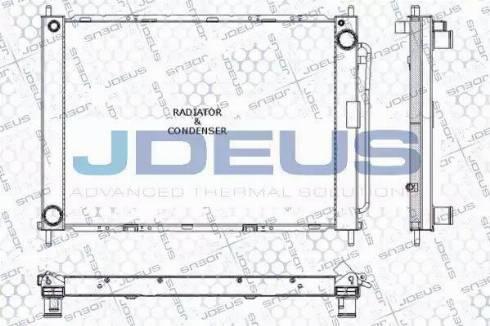 Jdeus RA0230780 - Модуль охлаждения autodif.ru