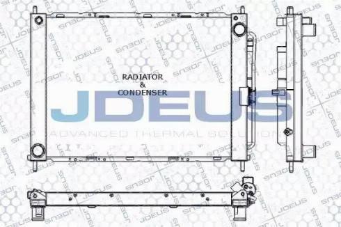 Jdeus RA0230781 - Модуль охлаждения autodif.ru