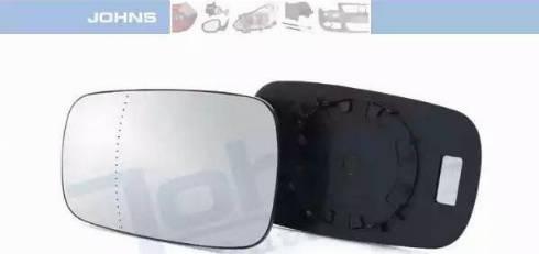 Johns 60 09 37-80 - Зеркальное стекло, наружное зеркало autodif.ru