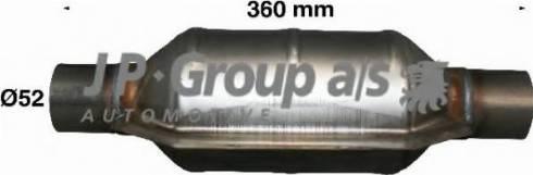 JP Group 9920900500 - Катализатор autodif.ru