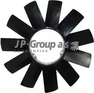 JP Group 1414900800 - Крыльчатка вентилятора, охлаждение двигателя autodif.ru