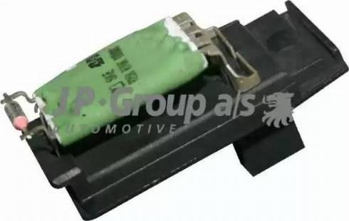 JP Group 1596850100 - Сопротивление, вентилятор салона autodif.ru