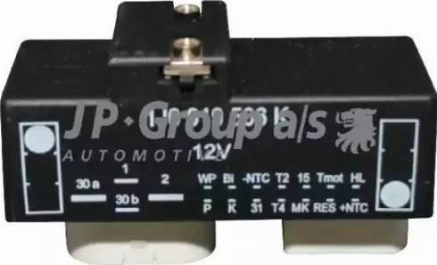 JP Group 1199150100 - Блок управления, эл. вентилятор (охлаждение двигателя) autodif.ru