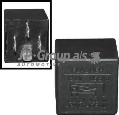 JP Group 1199208400 - Реле аварийной световой сигнализация autodif.ru
