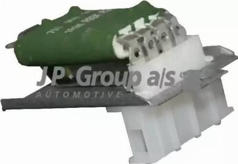 JP Group 1196850800 - Сопротивление, вентилятор салона autodif.ru