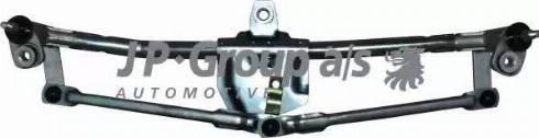JP Group 1198101200 - Система тяг и рычагов привода стеклоочистителя autodif.ru