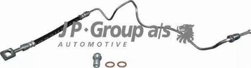 JP Group 1161500270 - Трубопровод тормозного привода autodif.ru