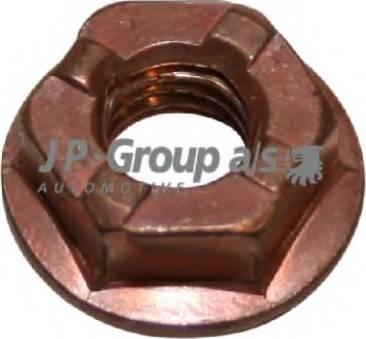 JP Group 1101100600 - Гайка, выпускной коллектор autodif.ru