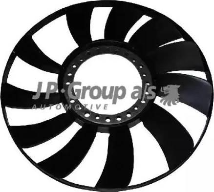 JP Group 1114900100 - Крыльчатка вентилятора, охлаждение двигателя autodif.ru