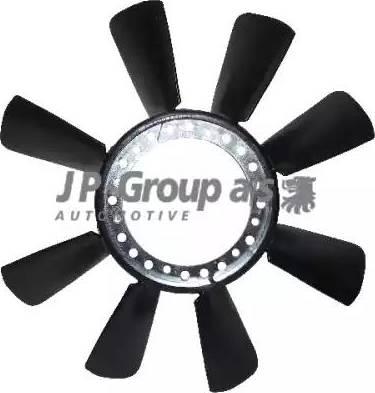 JP Group 1114900300 - Крыльчатка вентилятора, охлаждение двигателя autodif.ru