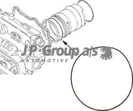 JP Group 1111000200 - Прокладка, гильза цилиндра autodif.ru