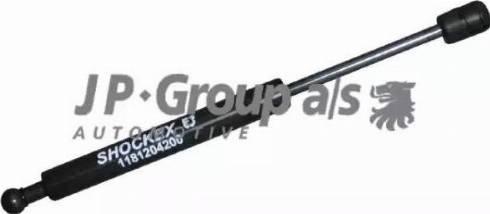 JP Group 1181204200 - Газовая пружина, крышка багажник autodif.ru