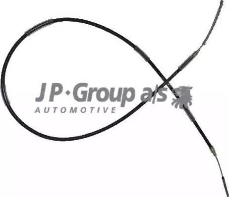 JP Group 1170305700 - Трос, стояночная тормозная система autodif.ru